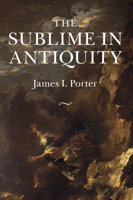 The Material Sublime Chapter 5 The Sublime In Antiquity