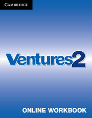 Ventures Level 2 Online Workbook (Standalone for Students)