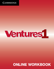 Ventures Level 1 Online Workbook (Standalone for Students)