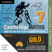 Cambridge Mathematics GOLD NSW Syllabus for the Australian Curriculum Year 7 Digital (Card)