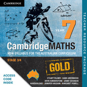 Cambridge Mathematics GOLD NSW Syllabus for the Australian Curriculum Year 7 Teacher Resource (Card)