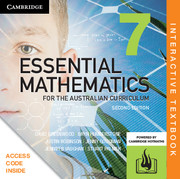 Essential Mathematics for the Australian Curriculum Year 7 Digital (Card)