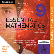 Essential Mathematics for the Australian Curriculum Year 9 Digital (Card)