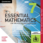 Essential Mathematics for the Australian Curriculum Year 7 Online Teaching Suite (Card)