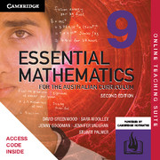 Essential Mathematics for the Australian Curriculum Year 9 Online Teaching Suite (Card)
