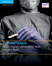 for AQA Frankenstein Student Book with Cambridge Elevate enhanced edition (2 Years)