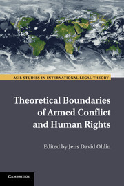 Theoretical Boundaries of Armed Conflict and Human Rights