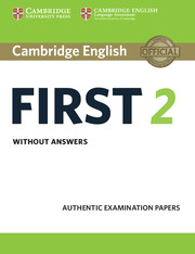 Cambridge English First 2
