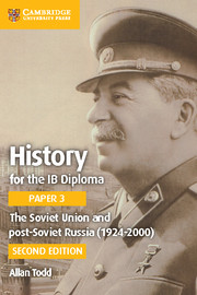 The Soviet Union and post-Soviet Russia (1924-2000) Cambridge Elevate edition (2 Years)