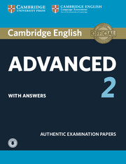 Cambridge English Advanced 2