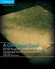 for AQA A Christmas Carol Cambridge Elevate enhanced edition