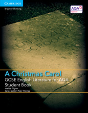 for AQA A Christmas Carol Student Book with Cambridge Elevate enhanced edition (2 Years)