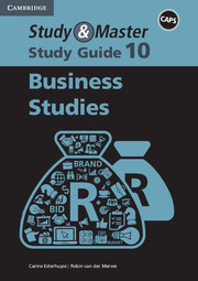 Study & Master Business Studies Study Guide Grade 10