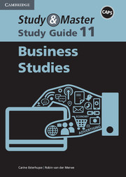 Study & Master Business Studies Study Guide Grade 11