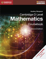 Cambridge O Level Mathematics