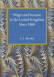 Wages and Income in the United Kingdom since 1860