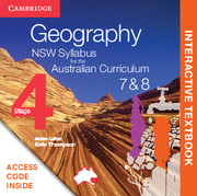 Geography NSW Syllabus for the Australian Curriculum Stage 4 Years 7 and 8 Digital (Card)