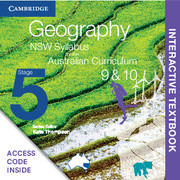 Geography NSW Syllabus for the Australian Curriculum Stage 5 Years 9 and 10 Digital (Card)