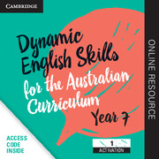 Dynamic English Skills for the Australian Curriculum Year 7 1 year subscription