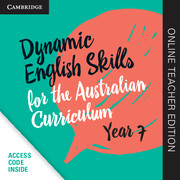 Dynamic English Skills for the Australian Curriculum Year 7 Online Teacher Edition