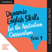 Dynamic English Skills for the Australian Curriculum Year 9 Online Teacher Edition