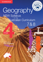 Geography NSW Syllabus for the Australian Curriculum Stage 4 Years 7 and 8