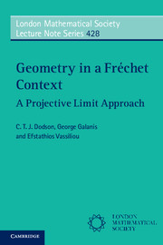 Geometry in a Fréchet Context