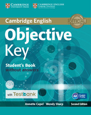 Objective Key Student's Book without Answers with CD-ROM with Testbank