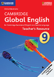 Cambridge Global English Stage 9 Teacher's Resource CD-ROM