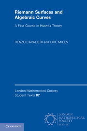 Riemann Surfaces and Algebraic Curves