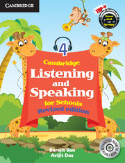 Cambridge Listening and Speaking for Schools Level 4 Student Book with Audio CD