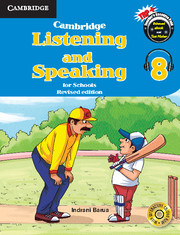Cambridge Listening and Speaking for Schools Level 8 Student Book with Audio CD