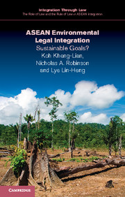 ASEAN Environmental Legal Integration