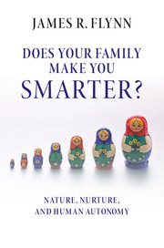 Does your Family Make You Smarter?