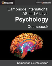 Cambridge International AS and A Level Psychology