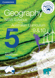 Geography NSW Syllabus for the Australian Curriculum Stage 5 Years 9 and 10