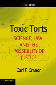 Toxic torts : science, law, and the possibility of justice