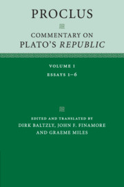 Proclus: Commentary on Plato's <I>Republic</I>