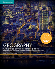 GCSE Geography for AQA Cambridge Elevate Enhanced Edition (1 Year) School Site Licence