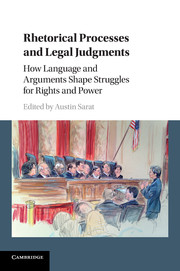 Rhetorical Processes and Legal Judgments
