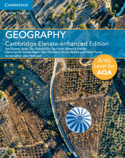 A/AS Level Geography for AQA Cambridge Elevate Enhanced Edition (1 Year) School Site Licence