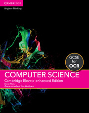 for OCR Cambridge Elevate enhanced edition (1 Year) School Site Licence