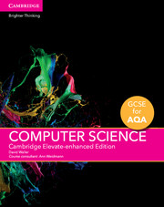 GCSE Computer Science for AQA Cambridge Elevate Enhanced Edition (1 Year) School Site Licence