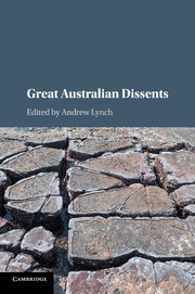Great Australian Dissents