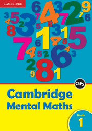 Cambridge Mental Maths Grade 1