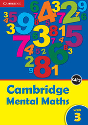 Cambridge Mental Maths Grade 3