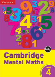 Cambridge Mental Maths Grade 4