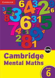 Cambridge Mental Maths Grade 6