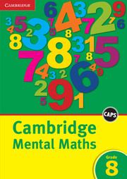 Cambridge Mental Maths Grade 8