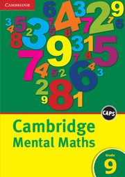 Cambridge Mental Maths Grade 9